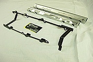 Chevrolet ZL-1 V8 Steel Bracket BEFORE Chrome-Like Metal Polishing and Buffing Services