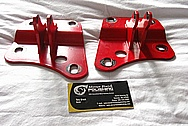 Nissan 350Z Steel Engine Brackets BEFORE Chrome-Like Metal Polishing and Buffing Services