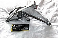 Chevy Corvette L98 350 Engine Brackets BEFORE Chrome-Like Metal Polishing and Buffing Services / Restoration Services