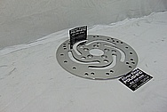 2009 Harley Davidson Rocker Motorcycle Steel Brake Rotor AFTER Chrome-Like Metal Polishing and Buffing Services / Restoration Services - Stainless Steel Polishing Services