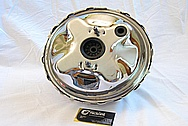 1976 Chevy Impala SS Brake Master AFTER Chrome-Like Metal Polishing and Buffing Services