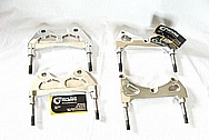 1950 Mercury Lead Sled Brake Calipers, Brake Rotors, Brackets, Etc AFTER Chrome-Like Metal Polishing and Buffing Services / Restoration Services