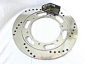 Motorcycle Steel Brake Rotors AFTER Chrome-Like Metal Polishing and Buffing Services / Restoration Services