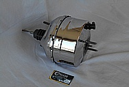 Steel Brake Booster AFTER Chrome-Like Metal Polishing and Buffing Services / Restoration Services