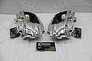 2012 Chevy Camaro ss Brembo Aluminum Racing Brake Caliper AFTER Chrome-Like Metal Polishing and Buffing Services / Restoration Services