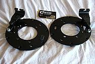 1950 Mercury Lead Sled Brake Calipers, Brake Rotors, Brackets, Etc BEFORE Chrome-Like Metal Polishing and Buffing Services / Restoration Services