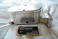 Aluminum Brake Master Cylinder Tank Setup BEFORE Chrome-Like Metal Polishing - Aluminum Polishing