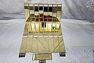 Brass Keyboard AFTER Chrome-Like Metal Polishing - Brass Polishing - Brass Polishing - Manufacturer Polishing