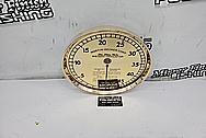 Brass Dial AFTER Chrome-Like Metal Polishing and Buffing Services - Brass Polishing Service