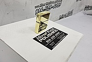 Brass Zippo Lighter AFTER Chrome-Like Metal Polishing and Buffing Services / Restoration Services - Brass Polishing