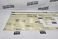 Brass Trim Pieces AFTER Chrome-Like Metal Polishing and Buffing Services / Restoration Services - Brass Polishing - Shell Polishing