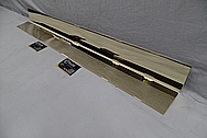 Brass Fire Place Trim AFTER Chrome-Like Metal Polishing and Buffing Services / Restoration Services