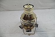 Brass Anchor Lamp AFTER Chrome-Like Metal Polishing and Buffing Services / Restoration Services