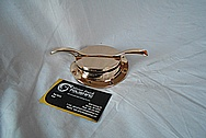 Brass Piece AFTER Chrome-Like Metal Polishing and Buffing Services / Restoration Services