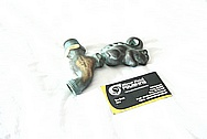 Brass Water Faucet Decorative Piece BEFORE Chrome-Like Metal Polishing and Buffing Services
