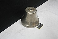 Brass Train Bell BEFORE Chrome-Like Metal Polishing and Buffing Services / Restoration Services