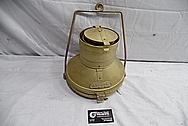 Brass Anchor Lamp BEFORE Chrome-Like Metal Polishing and Buffing Services / Restoration Services