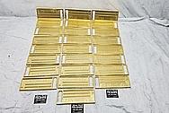 Brass Keyboard BEFORE Chrome-Like Metal Polishing - Brass Polishing - Brass Polishing - Manufacturer Polishing