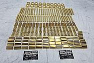 Brass High Quality Shavers BEFORE Chrome-Like Metal Polishing - Brass Polishing - Shaver Polishing