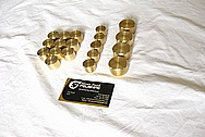 Brass Pieces BEFORE Chrome-Like Metal Polishing and Buffing Services
