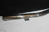 1978 Mercedes Benz 450 SL Stainless Steel Bumper Covers AFTER Chrome-Like Metal Polishing and Buffing Services / Restoration Services