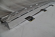 Stainless Steel Bumper AFTER Chrome-Like Metal Polishing and Buffing Services / Restoration Services