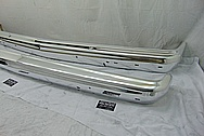 Jeep Aluminum Bumpers AFTER Chrome-Like Metal Polishing and Buffing Services / Restoration Services - Custom Welding Services
