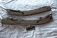 1969 Alpha Romeo Spider Steel Bumper BEFORE Chrome-Like Metal Polishing and Buffing Services / Restoration Services