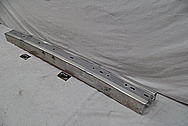 Stainless Steel Bumper BEFORE Chrome-Like Metal Polishing and Buffing Services / Restoration Services