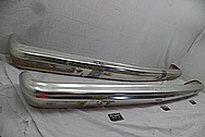 Jeep Aluminum Bumpers BEFORE Chrome-Like Metal Polishing and Buffing Services / Restoration Services - Custom Welding Services