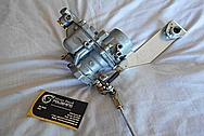 Aluminum Carburetor BEFORE Chrome-Like Metal Polishing and Buffing Services / Restoration Services