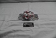 1964 Ford Fairlane 4100 Carburetor / Hardware BEFORE Chrome-Like Metal Polishing