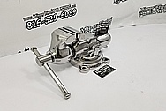 Wilton Steel Vise / Clamp AFTER Chrome-Like Metal Polishing and Buffing Services / Restoration Services