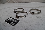 Steel Clamps BEFORE Chrome-Like Metal Polishing and Buffing Services / Restoration Services