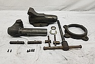 Steel Vise / Clamp BEFORE Chrome-Like Metal Polishing and Buffing Services / Restoration Services