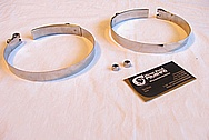 Steel Clamps BEFORE Custom Metal Polishing and Buffing Services