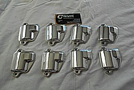 Aluminum Coil Cover Set AFTER Chrome-Like Metal Polishing - Aluminum Polishing Services