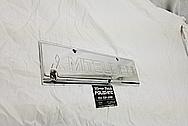 Mitsubishi Aluminum Coil Cover AFTER Chrome-Like Metal Polishing - Aluminum Polishing Services - Coil Cover Polishing
