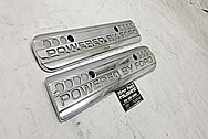 Ford Mustang Cobra Coil Covers AFTER Chrome-Like Metal Polishing - Aluminum Polishing Services - Coil Cover Polishing