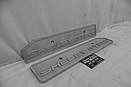 Ford GT500 Aluminum Coil Cover Set BEFORE Chrome-Like Metal Polishing - Aluminum Polishing Services