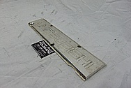 Mitsubishi Aluminum Coil Cover BEFORE Chrome-Like Metal Polishing - Aluminum Polishing Services - Coil Cover Polishing