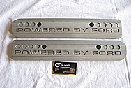 Ford GT V8 Aluminum Coil Covers BEFORE Chrome-Like Metal Polishing and Buffing Services Plus Custom Painting Services