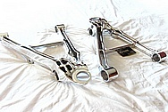 2001 Chevy C5 Corvette Aluminum Control Arms / Suspension Pieces AFTER Chrome-Like Metal Polishing and Buffing Services