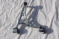 Toyota Supra Upper and Lower Aluminum Control Arms AFTER Chrome-Like Metal Polishing and Buffing Services
