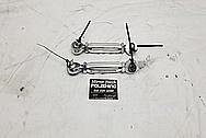 Razor All Terrain Vehicle Aluminum Control Arms AFTER Chrome-Like Metal Polishing - Aluminum Polishing