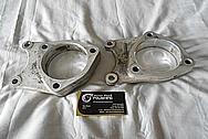 Aluminum Control Arm Pieces BEFORE Chrome-Like Metal Polishing - Aluminum Polishing
