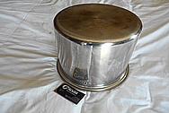 Stainless Steel Pots, Pans and Lids BEFORE Chrome-Like Metal Polishing - Stainless Steel Polishing
