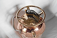 Copper Guardene Fire Extinguisher AFTER Chrome-Like Metal Polishing and Buffing Services