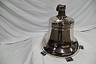 Copper Church Bell AFTER Chrome-Like Metal Polishing and Buffing Services