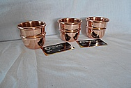 Magicians Magic Copper Cup AFTER Chrome-Like Metal Polishing and Buffing Services